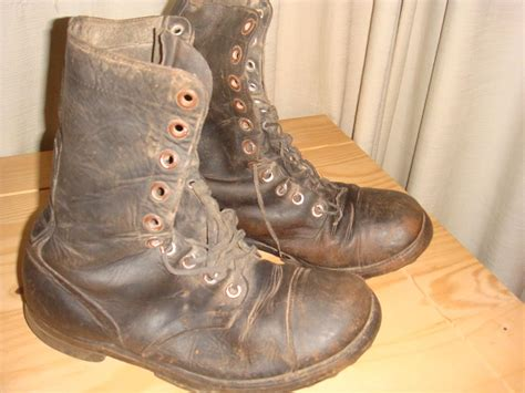ww2 jump boots ww2 us paratrooper jump boots barn finds
