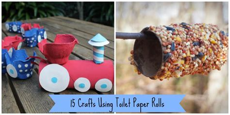 Crafts With Toilet Paper Roll - 15 crafts using toilet paper rolls