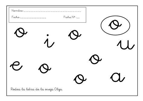 de la letra a actividades para imprimir 17grafomotricidad letra o