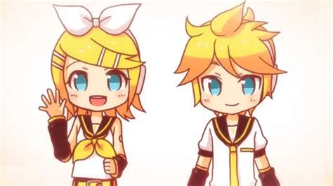 b m len chibi rin and len electric opening rin and len