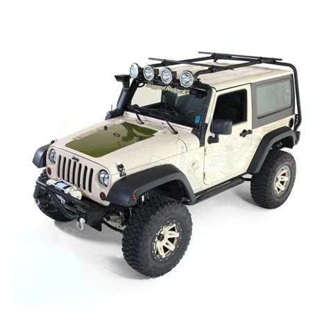 rugged ridge 11703 01 sherpa roof rack 07 15 jeep 2 door