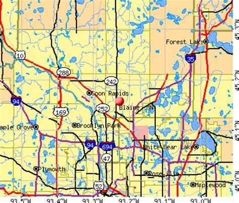 gander mountain blaine mn blaine minnesota mn profile population maps real