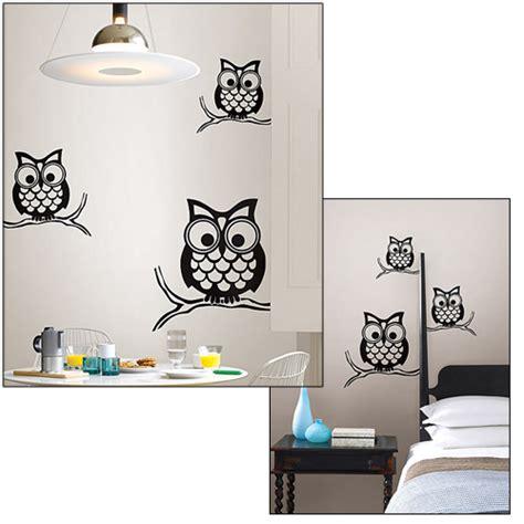 Owl Bathroom Decals Bathroom Wall Decorations Wall Decor
