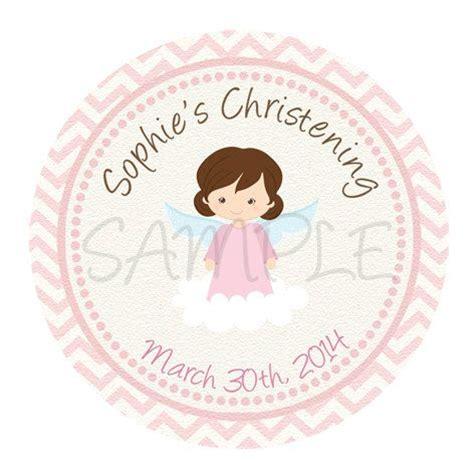 printable baptism stickers baptism angel label pink baptism sticker baptism