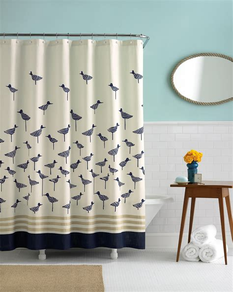 buy designer shower curtains from bed bath beyond blossum fabric shower curtain buy polyester shower