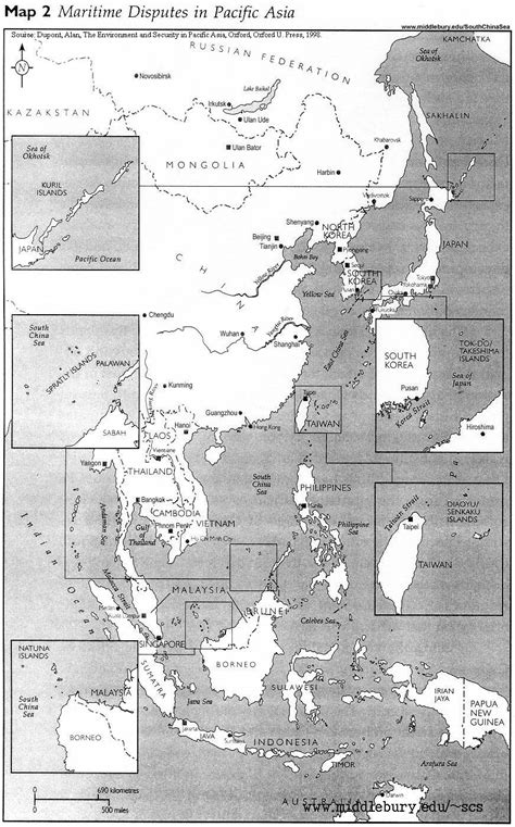 Legal and Political Maps | The South China Sea