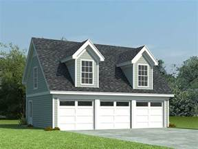 Garage Loft Plans by Garage Loft Plans 3 Car Garage Loft Plan With Cape Cod