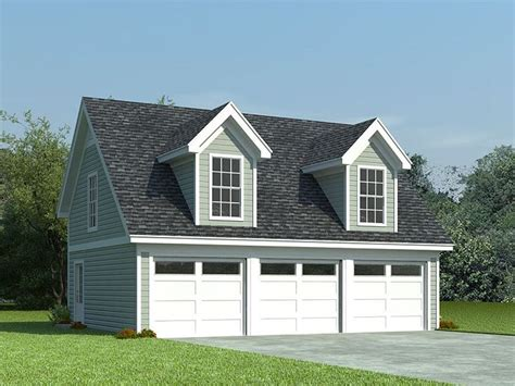 Three Car Garage Plans by Garage Loft Plans 3 Car Garage Loft Plan With Cape Cod