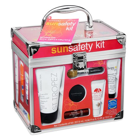 Sephoras Sun Safety Kit Product 3 3 by Sephora Packaging Sun Safety Kit 2012 On Behance