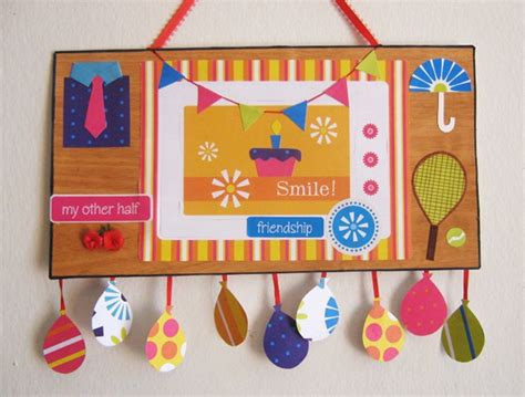 Handmade Wall Hanging For Birthday - saumya s cards and crafts handmade greeting cards and crafts