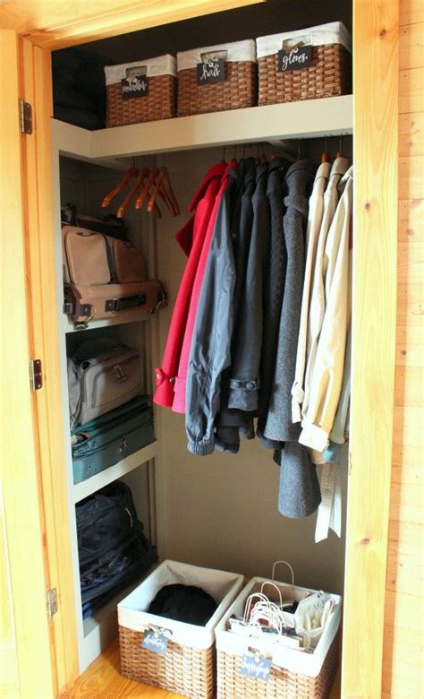 Coat Closet 10 Best Ideas About Coat Closet Organization On