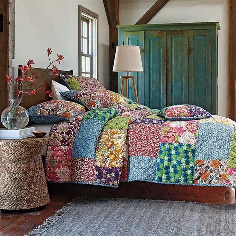 Seprei Bedcover Retro 230x230 2 patchwork zoeken patchwork patchwork cotton and store