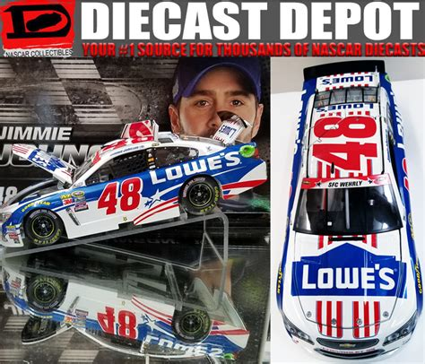 Power Of Nascar Nascar Jimmie Johnson 2016 Power Of Pride Nascar Salutes Lowes 1