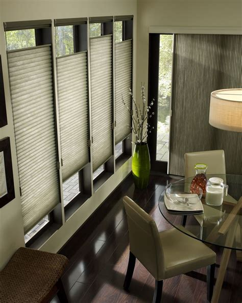 Applause Honeycomb Shades With Top Down Bottom Up Sliding Glass Door Shades And Blinds