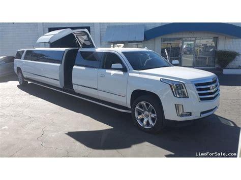 Escalade Limo by New 2015 Cadillac Escalade Suv Stretch Limo
