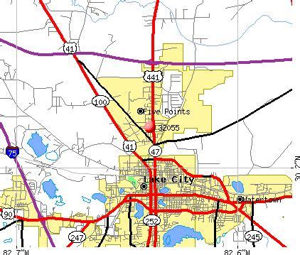 map of lake city florida 32055 zip code lake city florida profile homes