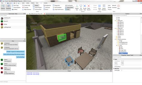 dynamic place creation and saving roblox wiki work together on roblox projects with team create roblox