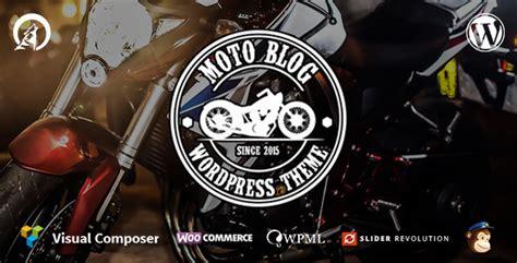 wordpress themes free motorcycle motoblog a wordpress theme for motorcycle lovers by wolf