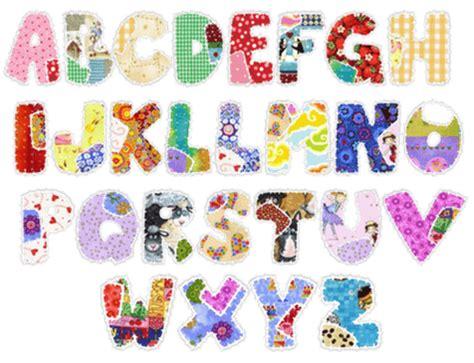 Patchwork Font - abecedarios infantiles para patchwork imagui