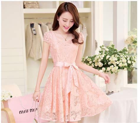 Dress Bahan Scuba Motif Bunga Quality Fit To L dress casual wanita korea summer style v neck sleeve size s light blue jakartanotebook