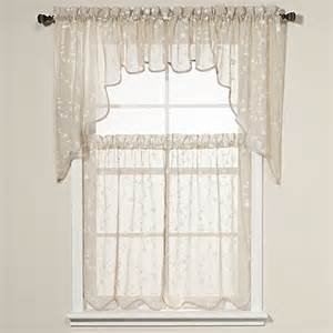 Kitchen Tier Curtains Buy Kitchen Tier Curtains From Bed Bath Beyond