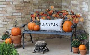 Fall Decorations For Outside The Home by Outdoor Fall Decorating Ideas Fall Front Porch Decorating