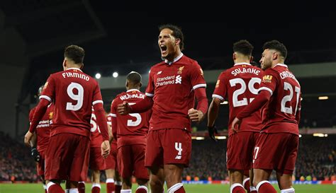 new year 2018 liverpool liverpool 2 everton 1 dogged reds make it 23 years of