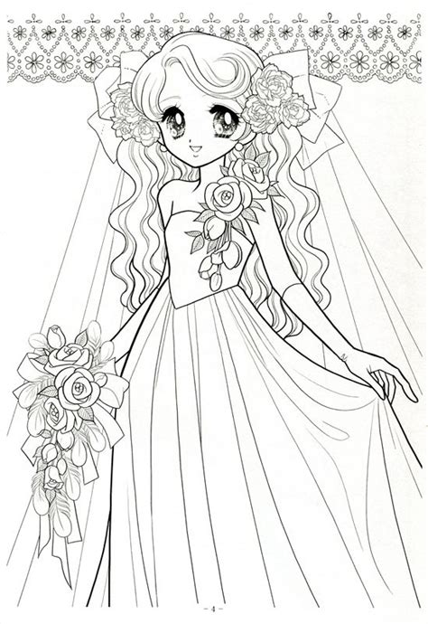 japanese coloring pages shoujo coloring book japanese sketch coloring page