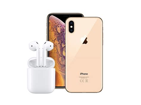 win  iphone xs max  airpods saloncom