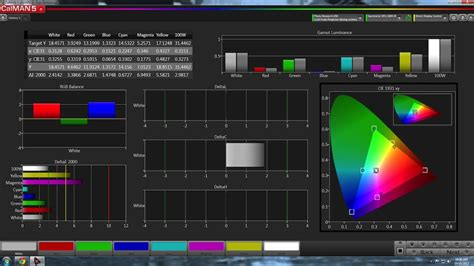 test pattern generator software review spectracal calman5 calibration software and dpg