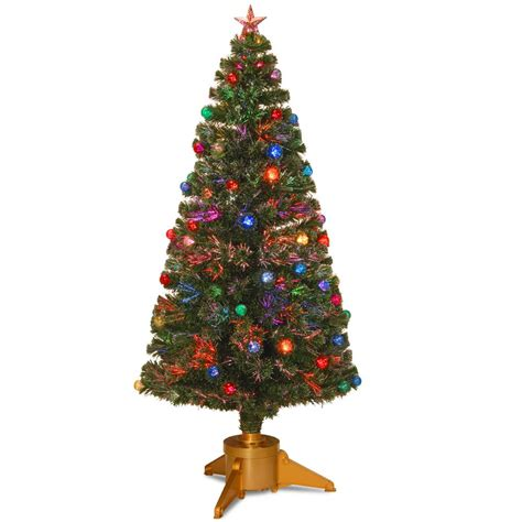 wilkos fiber optic christmas trees national tree company 6 ft black tinsel artificial tree tt33 704 60 the home depot