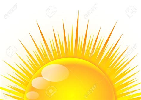 Sun With Rays Clipart