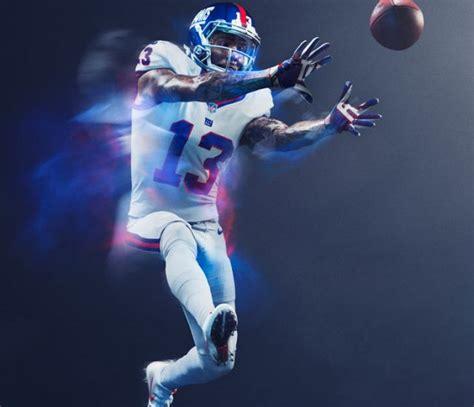 Set Nike Matt Spandek giants nfl set to debut color uniforms