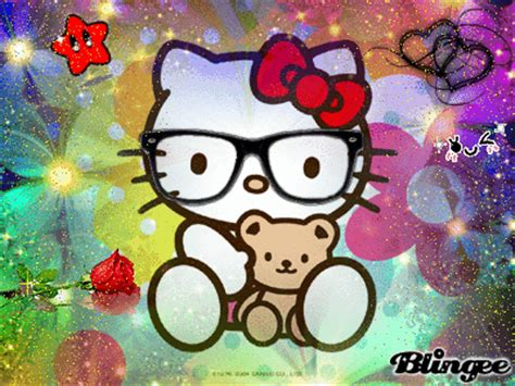 wallpaper hello kitty nerd nerd hello kitty picture 124143259 blingee com