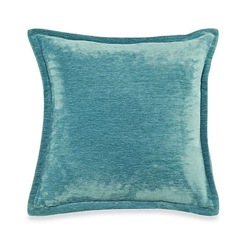 turquoise couch pillows velvet 20 inch throw pillow in turquoise bed bath beyond