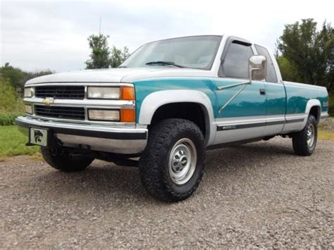 all car manuals free 1995 chevrolet 2500 windshield wipe control 1gcgk29n9se279778 1995 chevy 2500 ext cab long bed 454 big block automatic 4x4 rust free