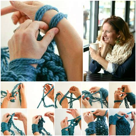easy arm knitting the best arm knitting free pattern collection patterns