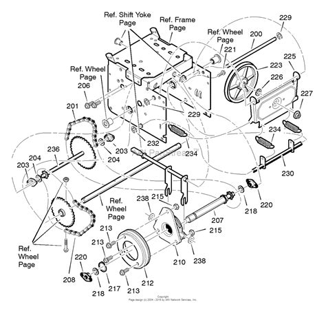 craftsman snowblower parts diagram murray 536 881850 craftsman dual stage snow thrower