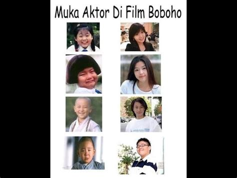 film boboho youtube wajah aktor film boboho masa sekarang youtube