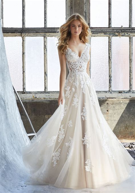 The Wedding Gown by Mori Kennedy Style 8206 Dress Madamebridal