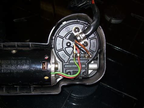 how to wiper motor parking switch wiring