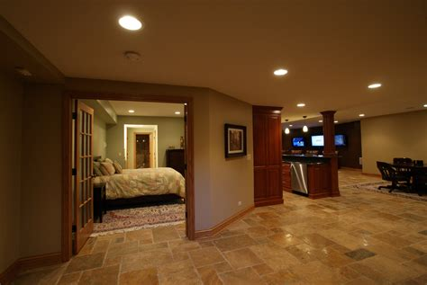 Narrow House Designs by Basement Remodeling