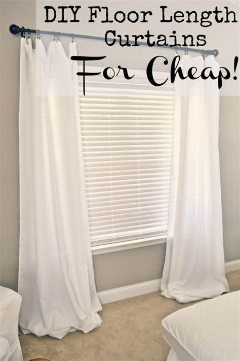 cheap floor length curtains 1000 ideas about curtain clips on pinterest curtain