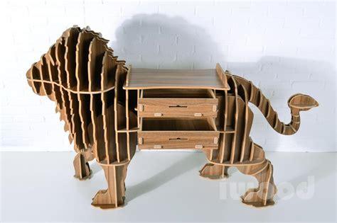 puzzle table creative animal furniture mdf diy
