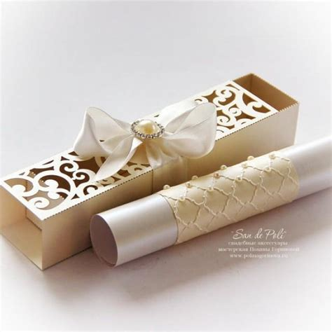 Wedding Invitation Card Roll by Wedding Box Invitations Scroll Roll Card Template Swirl