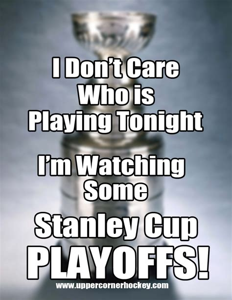 Playoffs Meme - stanley cup meme upper corner hockey