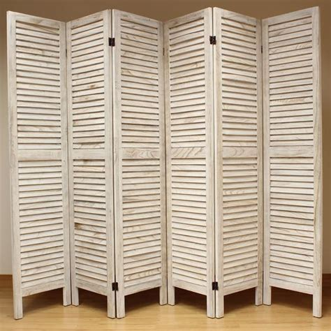 slatted room divider wooden slat room divider screen 6 panel cream room