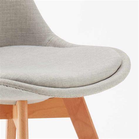 cuscini per sedie da cucina moderne sedie moderne con cuscino tessuto design scandinavo