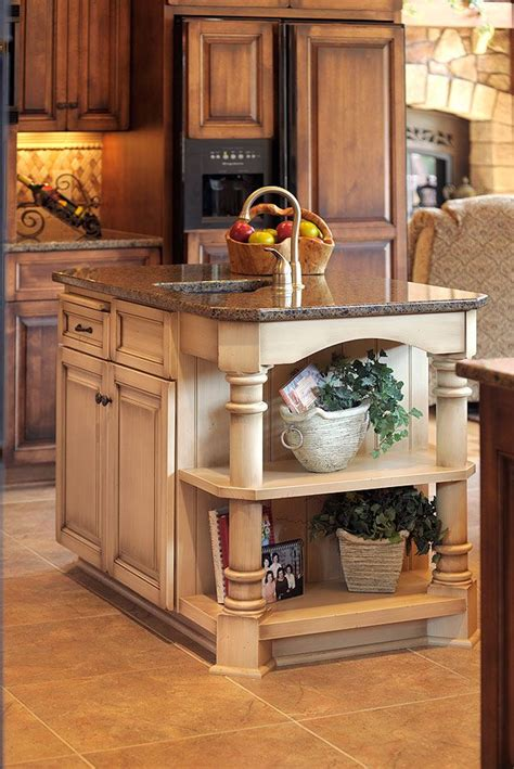 kitchen cabinet island design ideas 14 best images about two tone kitchens with cabinets on traditional wood