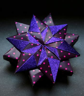 6 Pointed Origami - 6 origami pointed 171 embroidery origami